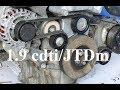 How to replace v-ribbed belt & tensioner - 1.9 cdti/JTDm - Astra, Zafira, Vectra, Alfa Romeo, Saab