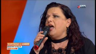 Amber & Mary Rose Mallia - IL-Festa LIVE on Amber Xarabank Special