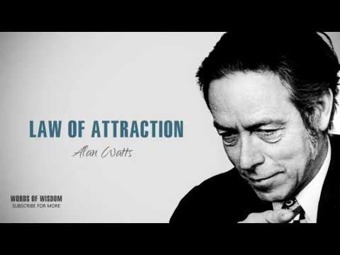 Alan Watts Law Of Attraction Most EPIC Speech Of All Time By Alan Watts