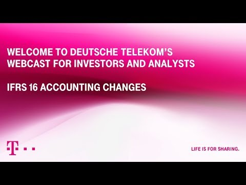 Deutsche Telekom´s Webinar: Implementation IFRS 16 (Leasing)