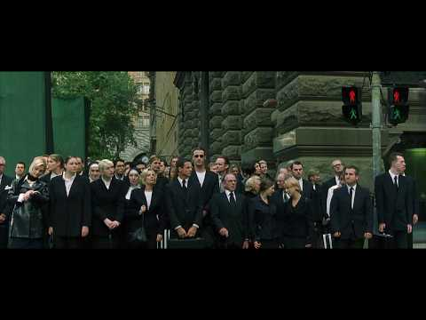 The Matrix Clubbed to death soundtrack scene OriginalThe Women in Red Dress