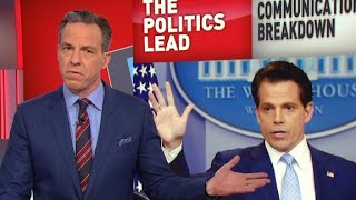 Tapper takes on Scaramucci's obscene rant thumbnail