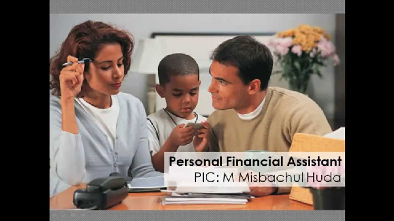 Personal Financial Assistant - Indigo 2015 - YouTube