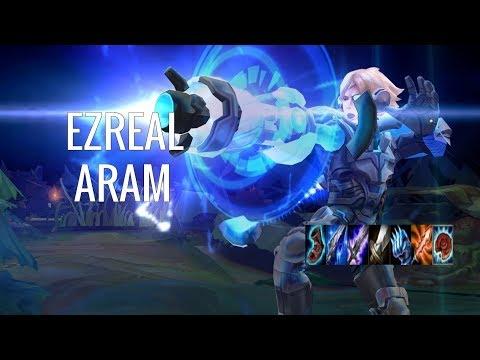 THE MOST POKE IN ARAM?! League of Legends - ARAM - Ezreal