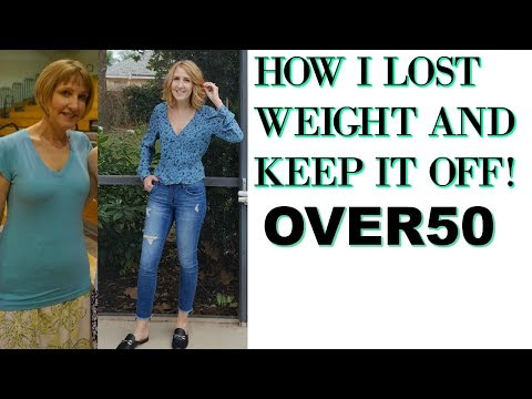 How to LOSE WEIGHT OVER 50 during MENOPAUSE