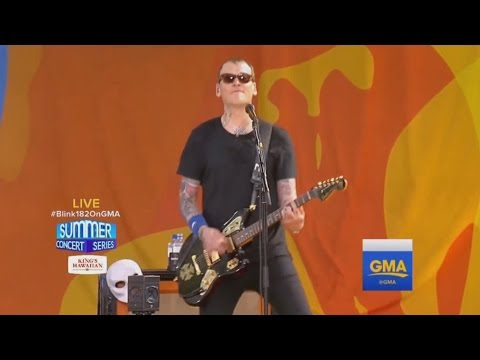 Blink 182 - All the Small Things live (2016, Good Morning America)