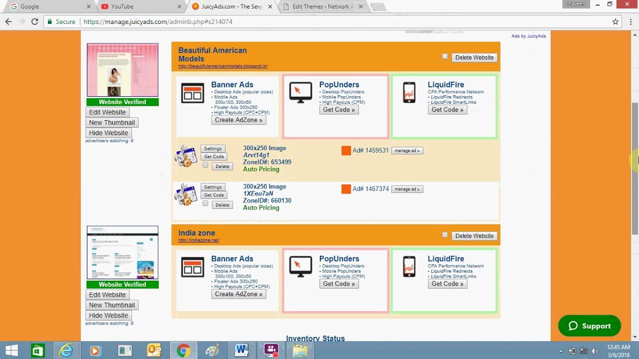 How To Add Juicy Ads To Your Wordpress Website Juicyads Google
