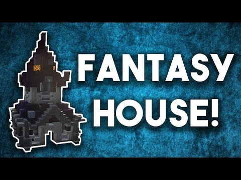 [Minecraft Tutorial] How To Build A Fantasy House In Minecra