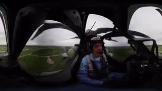 'Night Hunters' Mi-28 Flight in 360: Russian aerobatic team performs epic stunts