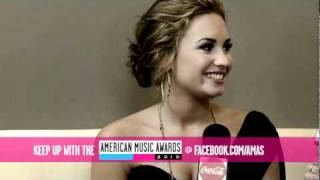 Demi Lovato ONE-ON-ONE EXCLUSIVE 2010 American Music Awards