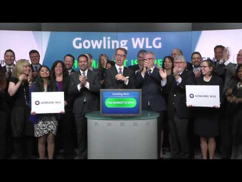 Gowling WLG opens Toronto Stock Exchange, February 25, 2016