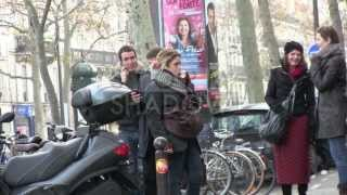 EXCLUSIVE - Alysson Paradis and Boyfriend at Merci Store in Paris