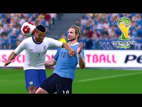 England vs. Uruguay | 2014 FIFA World Cup Brazil Simulation | Pro Evolution Soccer 2014 (PES 2014)