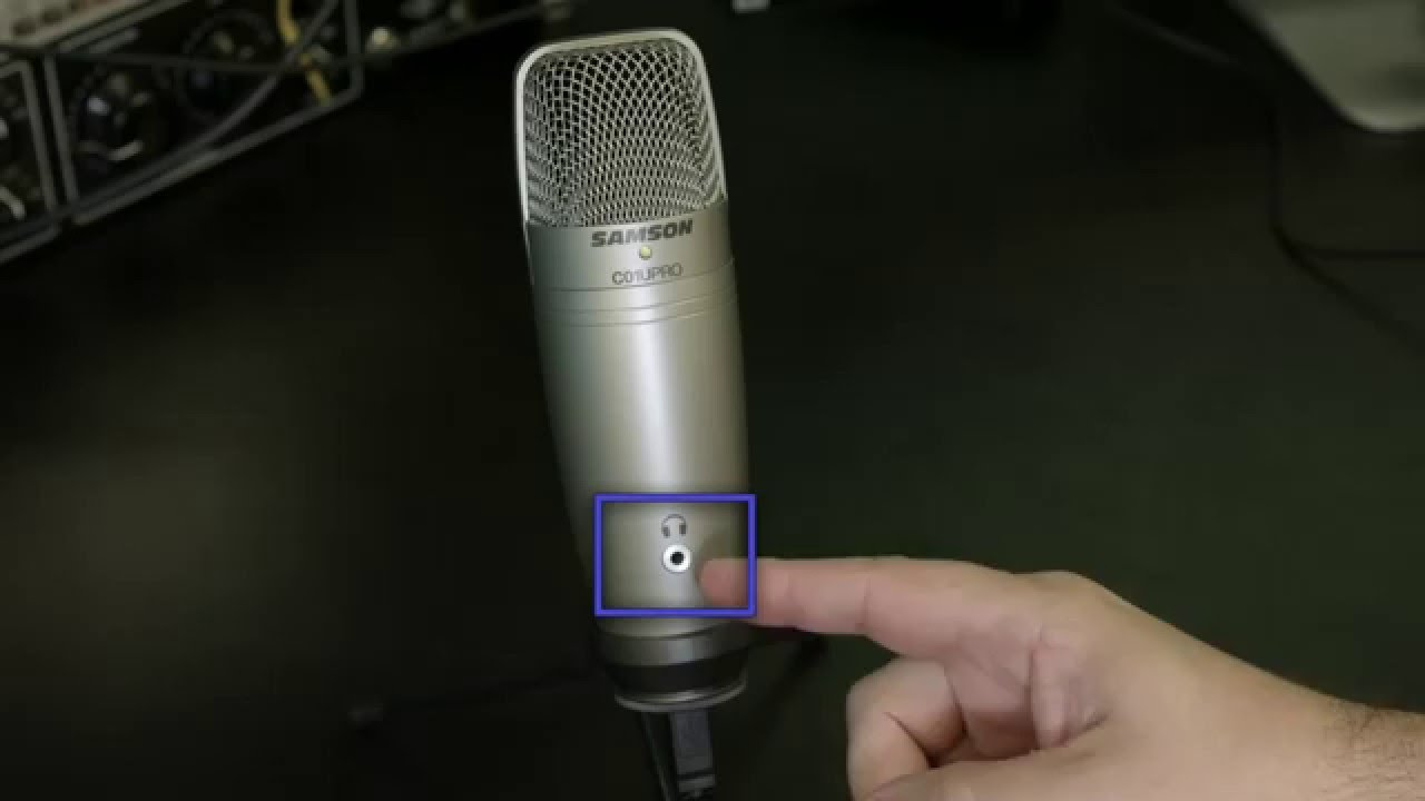 Samson C01u Pro Usb Microphone Set Up For Mac And Windows Youtube