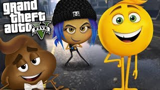 GTA 5 Mods - EMOJI MOVIE MOD w/ GENE, JAILBREAK & POOP (GTA 5 Mods Gameplay)