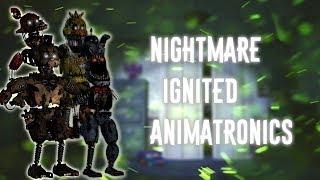 [FNAF | Speed Edit] Making Nightmare Ignited Animatronics thumbnail