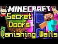 Minecraft SECRET DOORS, Vanishing Walls, Special Sensors & More!