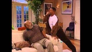 "Will Smith singing ""And I'm telling you I'm not going"" on Fresh Prince of Bel Air"