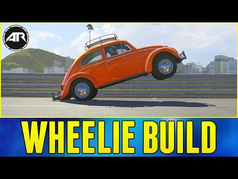 Forza 6 : Wheelie Drag Build (How To Make a Wheelie Car in Forza 6)