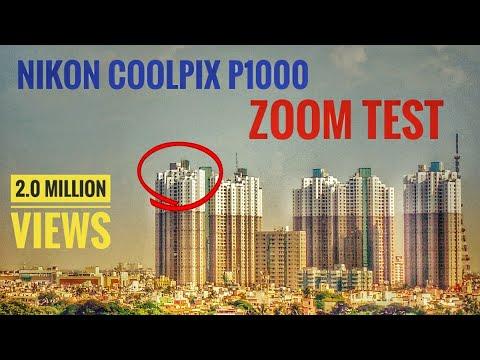 Nikon Coolpix P1000 Zoom Test | South City Complex Kolkata