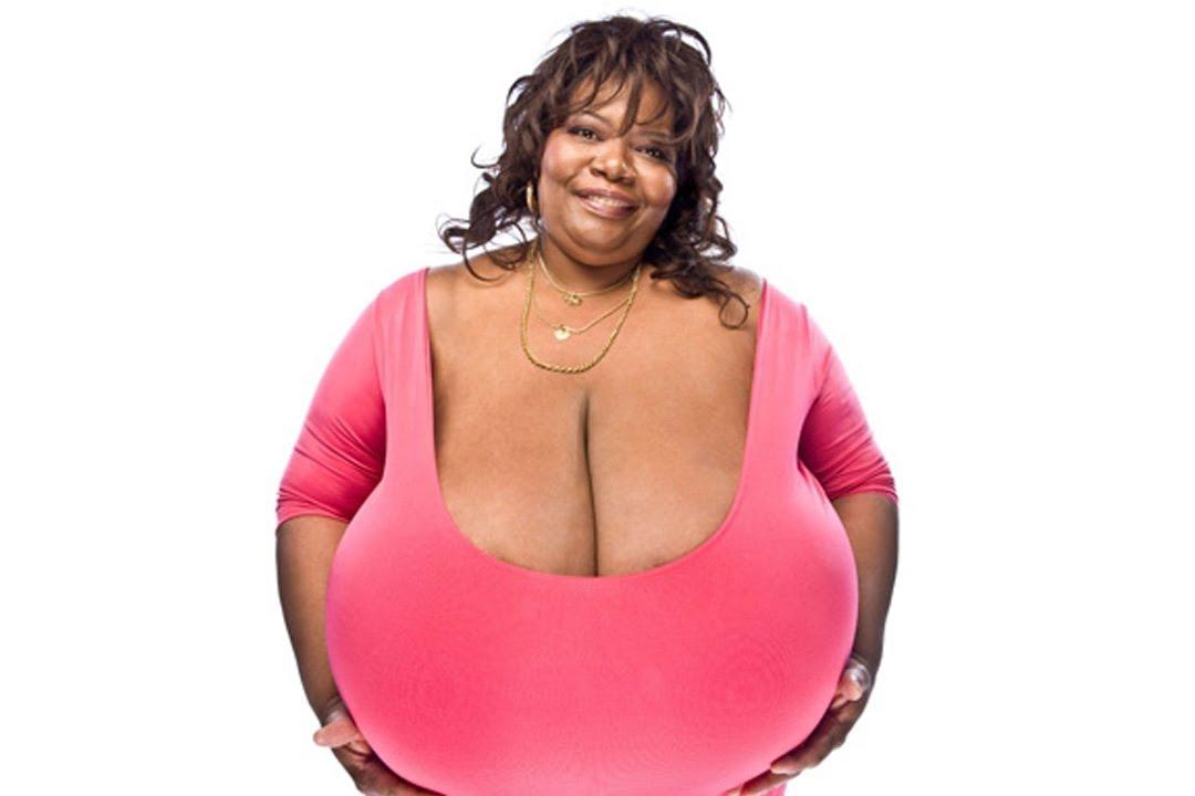Biggest boob natural