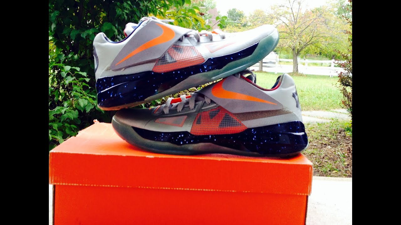newest fae9c 31342 Nike Zoom KD 4 Galaxy AS All Star + ON FEET (W  Different Pants!)