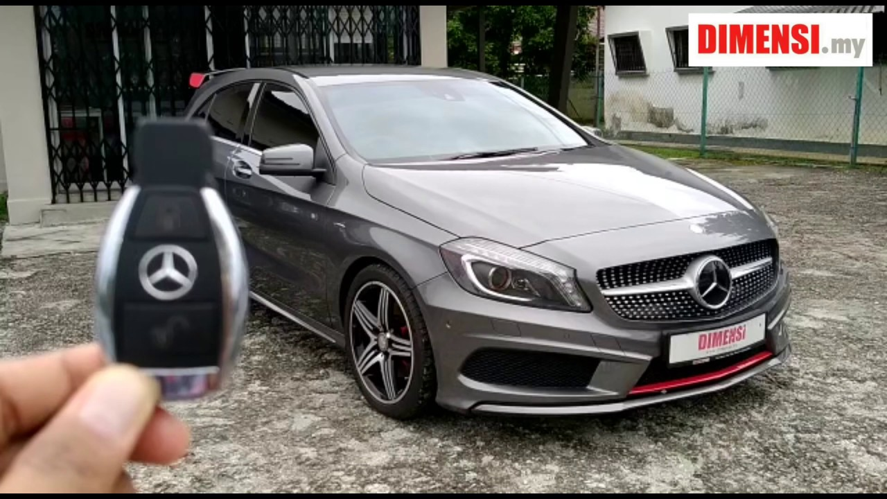 Used Mercedes Benz A250 AMG 2015 by DIMENSI.my Cars