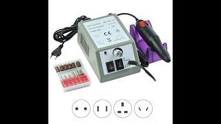 12 вт 20000 об мин электрическая дрель для ногтей маникюр педикюр полировка набор удаления геля