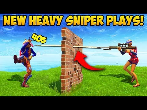 *NEW* HEAVY SNIPER IS BROKEN! - Fortnite Funny Fails and WTF Moments! #290