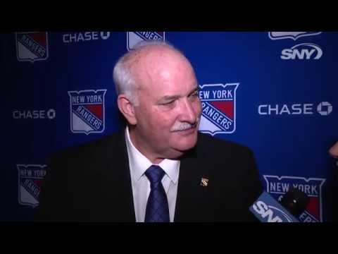 John Davidson explains why he chose to run the New York Rangers