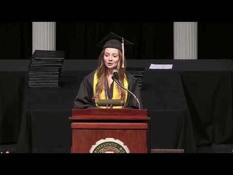 Ashley Holland Speech, 2018 University of Missouri Trulaske College of Business Commencement