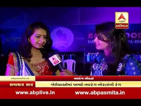 ABP asmita talk with gujarati Folk Singer Kinjal Dave