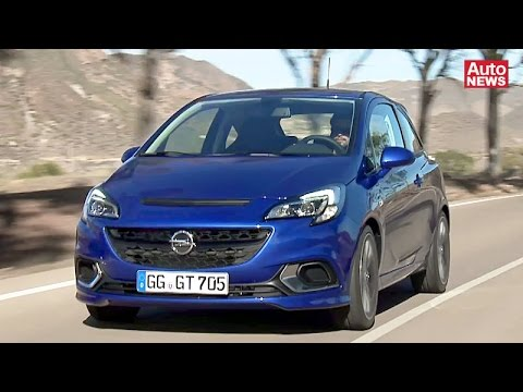 der neue opel corsa opc mit 207 ps youtube. Black Bedroom Furniture Sets. Home Design Ideas