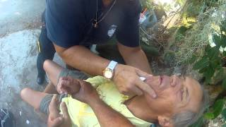 RABBI JEW BARKER MEDICAL EMERGENCY Key Largo Ambulance Saves my Man In Diabetic Coma 1of3