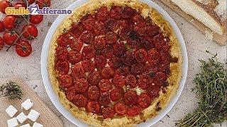 Feta And Tomato Tarte Tatin - Vegetarian Recipe