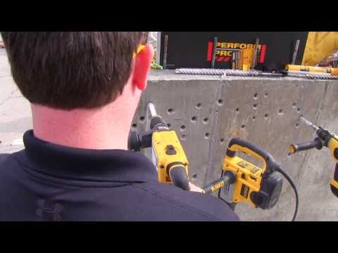 DEWALT puts safety first with its innovative anti-rotation system (construction tools)