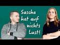 German Lesson (413) - Sascha hat auf nichts Lust - Listening Comprehension - B2