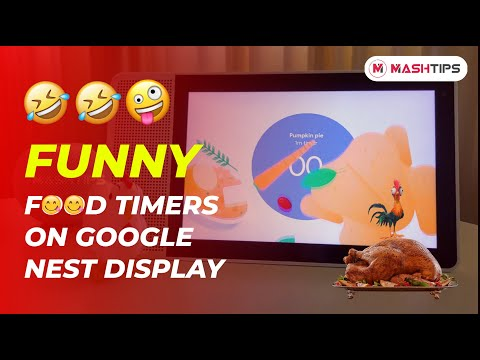 Funny Food Timers to Try with Google Home Nest Hub on Thanksgiving | MashTips
