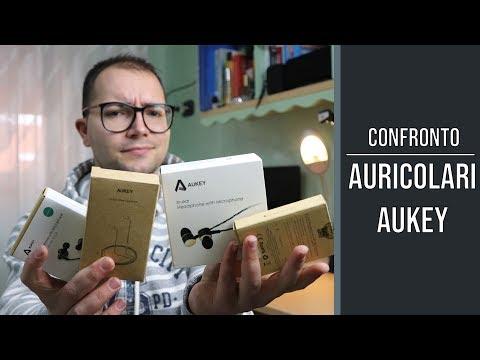 CONFRONTO AURICOLARI AUKEY: quali saranno i migliori?