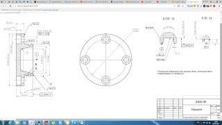Solidworks. Урок 22.5 Чертёж КРЫШКИ подшипникового узла - создание чертежа