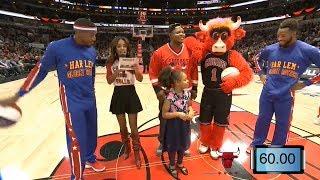 Harlem Globetrotters Visit A Chicago Bulls Game