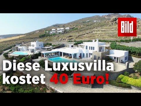 Irre Lotto-Aktion – Besitzer geben Traumvilla in Griechenland für 40 Euro weg