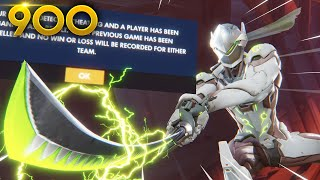 The BLADE That BROKE The GAME!! | Overwatch Daily Moments Ep. 900  (Funny and Random Moments)
