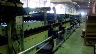 Работа линии для производства гофрокартона(Подробную информацию и технические характеристики линии Вы можете найти на странице http://g-mach.ru/equipment/133/, 2011-03-25T14:43:19.000Z)