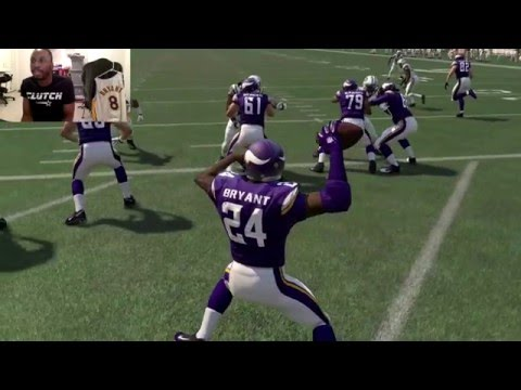 Can Kobe Bryant Do a 99yd Quarterback Scramble and Take it to the House!? Funny Madden Gameplay