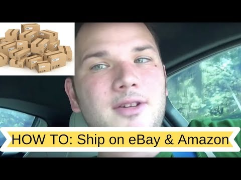 How to Ship on Ebay & Amazon the Cheapest Way. Quick breakdown