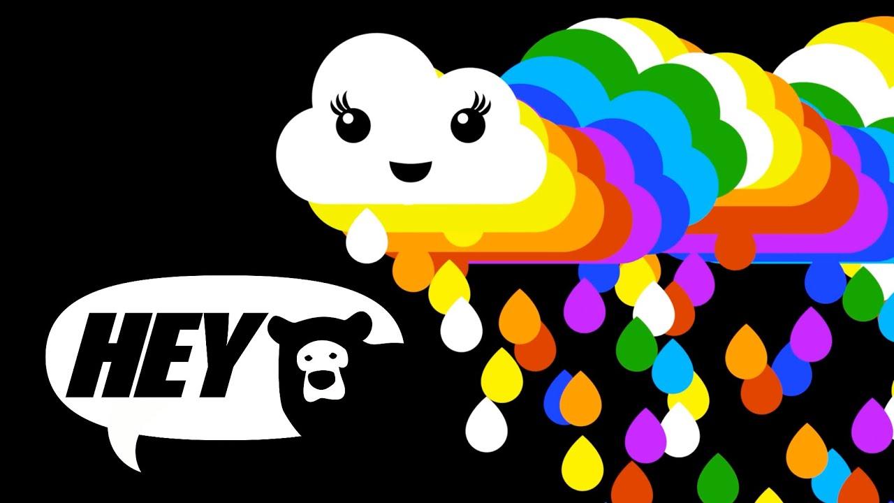 Baby Sensory Rainbow Fun Baby Video With Music Infant Visual Stimulation Youtube
