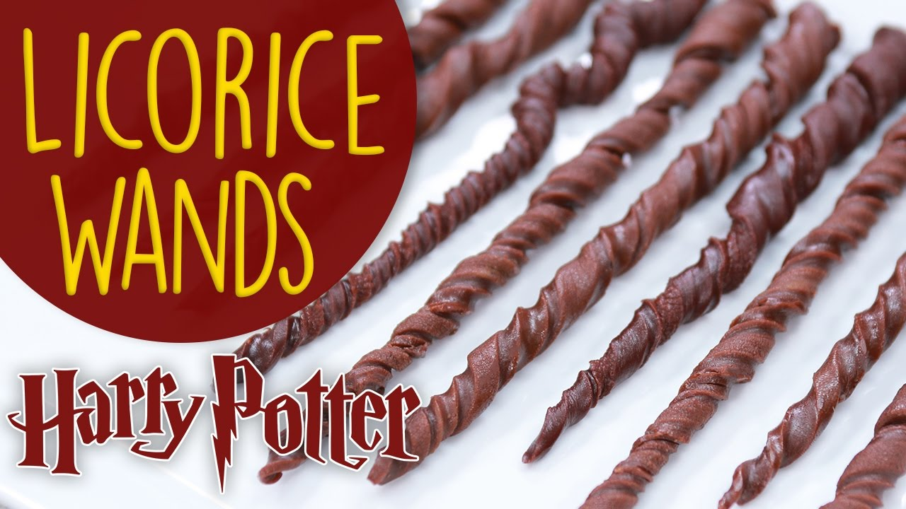 Harry Potter Licorice Wands Nerdy Nummies Youtube
