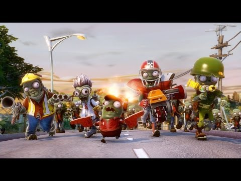 Plants vs Zombies Garden Warfare - Zombie Trailer (HD) Travel Video
