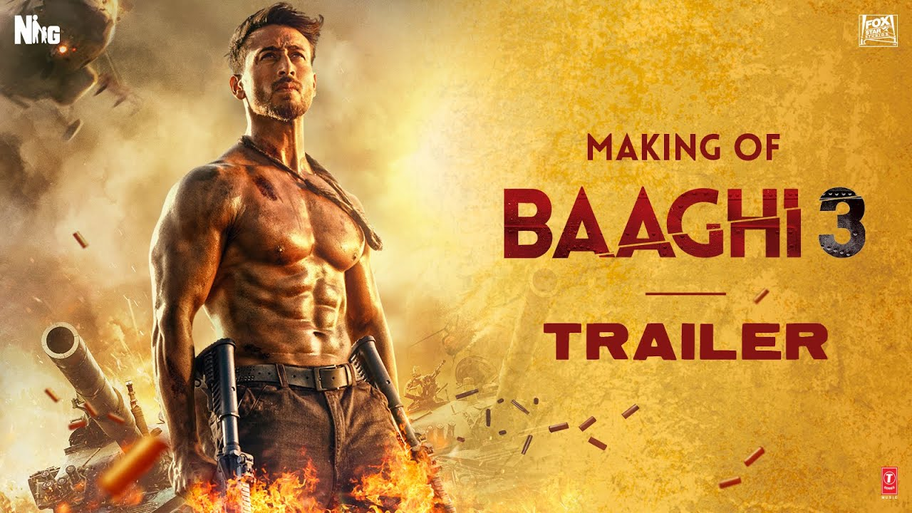 Making Of Baaghi 3 Trailer | Tiger Shroff |Shraddha|Riteish| Sajid Nadiadwala | Ahmed Khan | 6 March